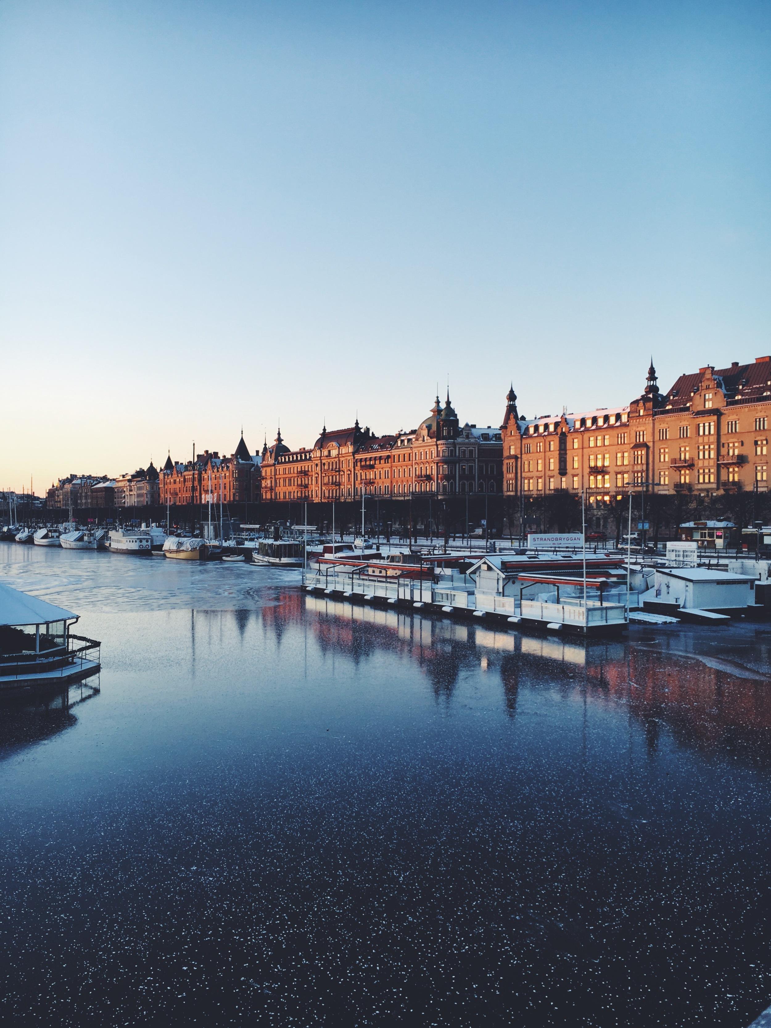 Stockholm-Sweden-Winter