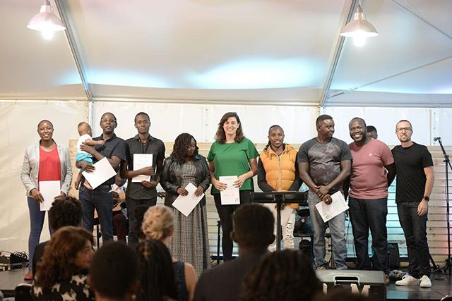 Congratulations to these stellar group of people who completed Culture Course! They're officially in the family and all seen here are serving the Lord in the house! 🙌🏽🙌🏽 Such an inspiration to those in Culture Course now! See you for week 2 this Sunday right after service!  #culturecourse #Allin  #culturecoursegrads #c3nbo