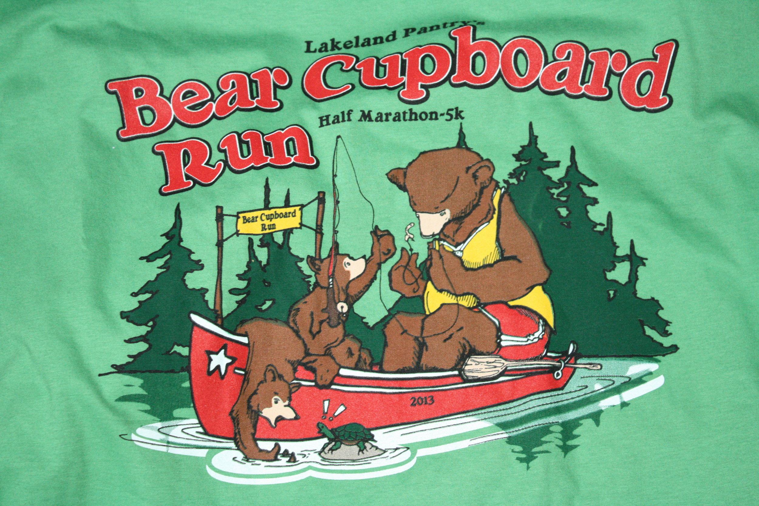 T-SHIRT | BEAR CUPBOARD RUN
