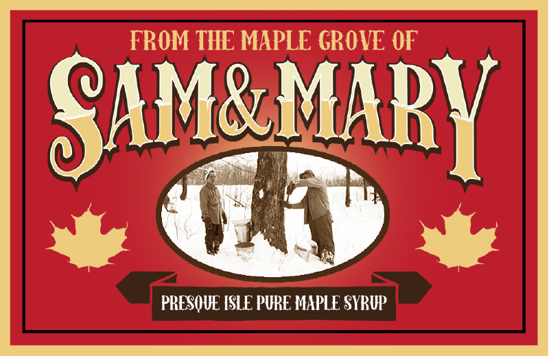 LABEL DESIGN | MAPLE SYRUP JARS