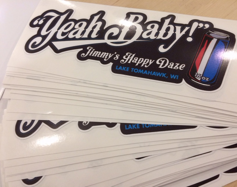 STICKERS | JIMMY'S HAPPY DAZE