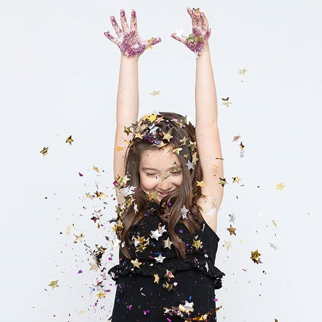 The only way to get through Monday is to throw some confetti around...or on yourself! 🎉