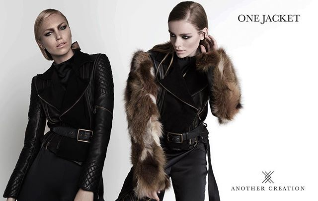One jacket -  Multiple looks. www.another-creation.com