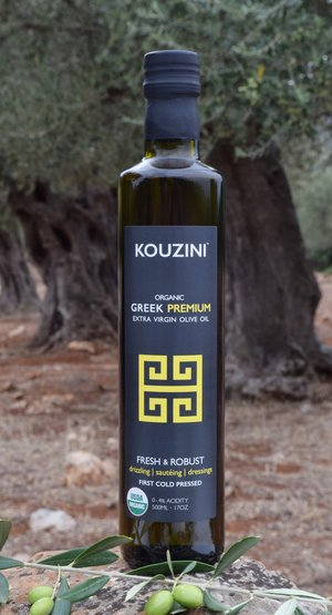 Organic extra virgin greek olive oil