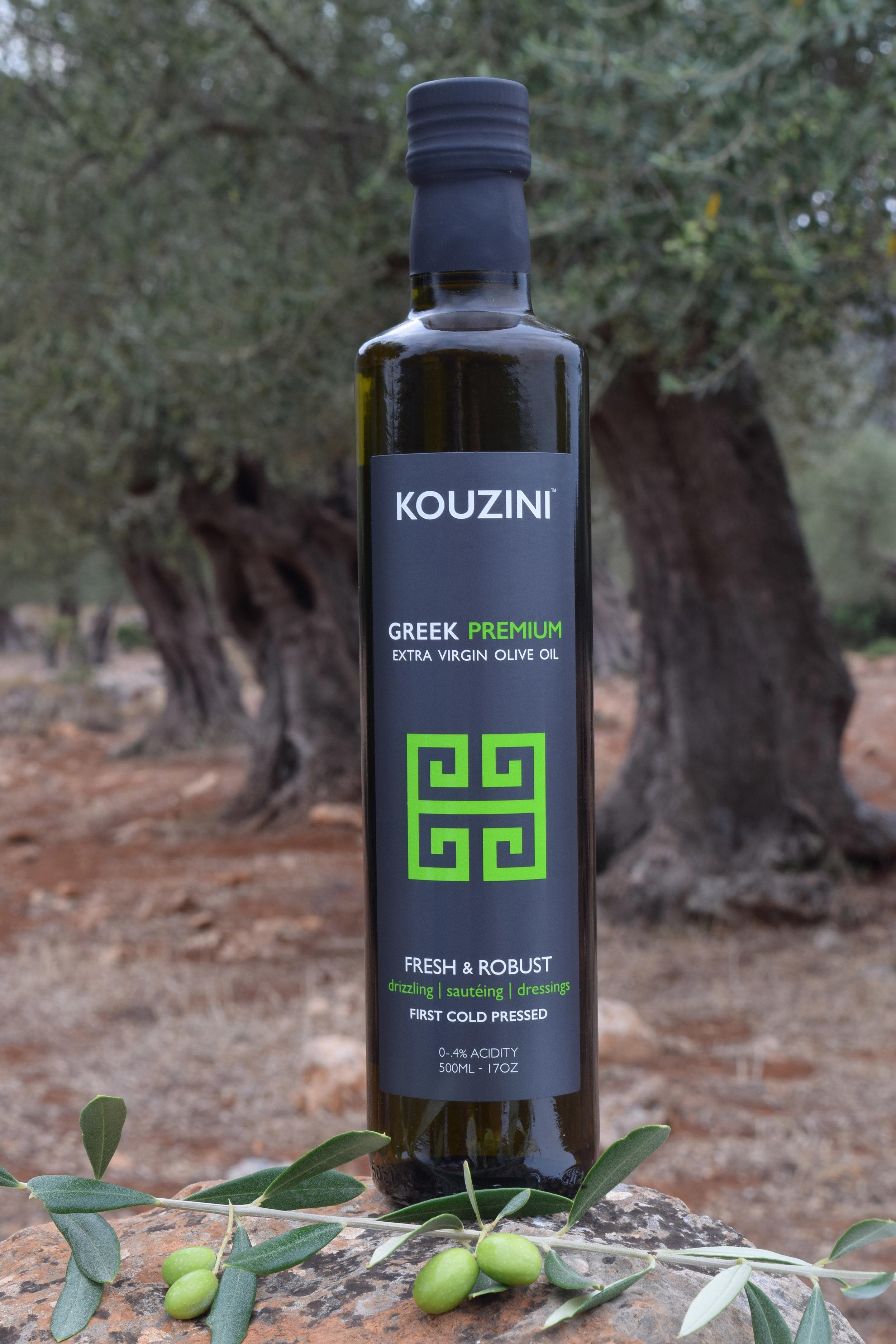 Ultra Premium Greek extra virgin olive oil.