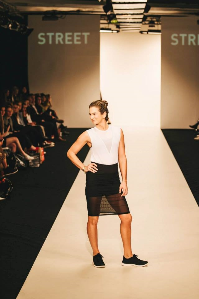 NZ Fashion week - Lululemon show