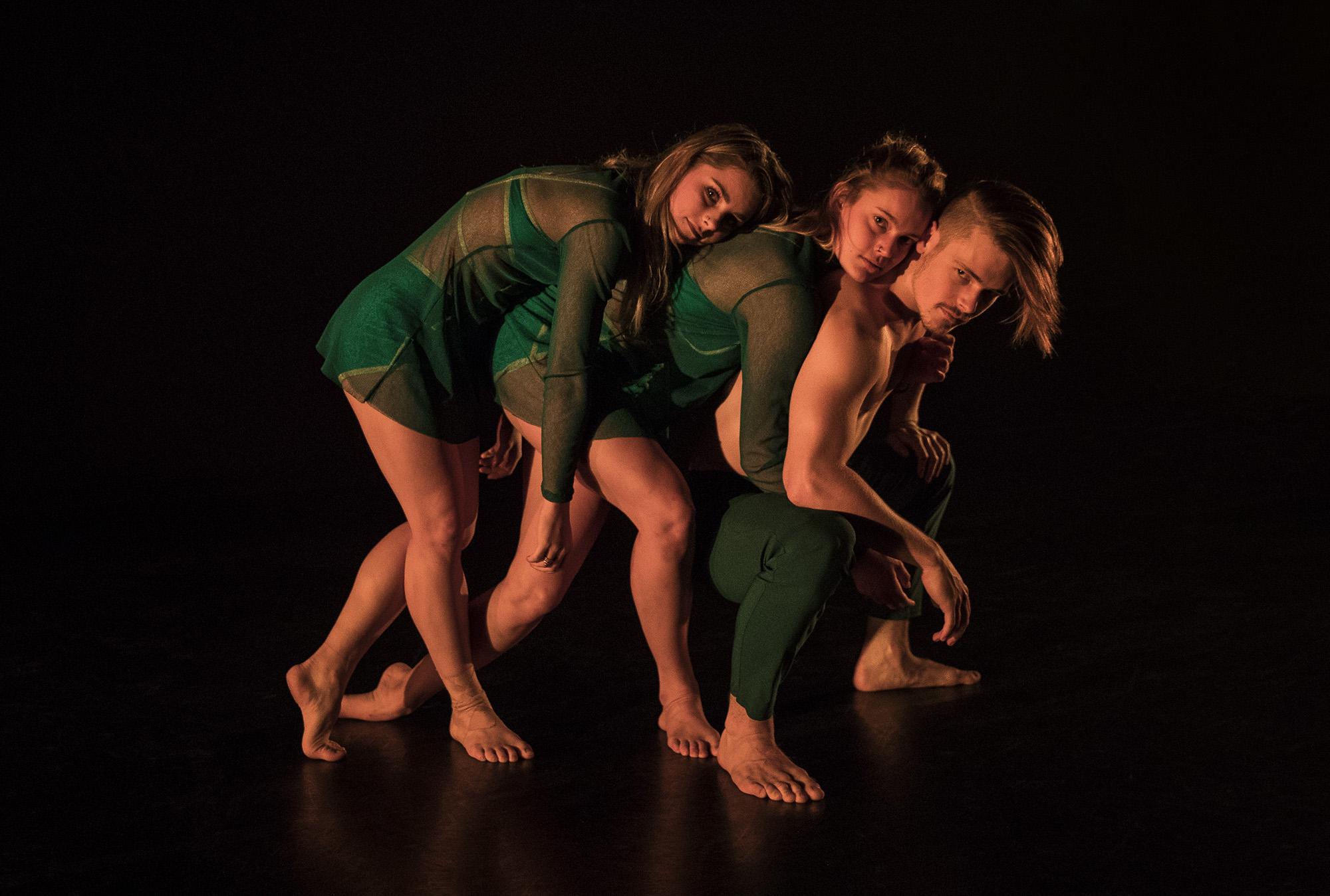 Company Dancers - Reagan Williams, Olivia Kingston and Alex Warren