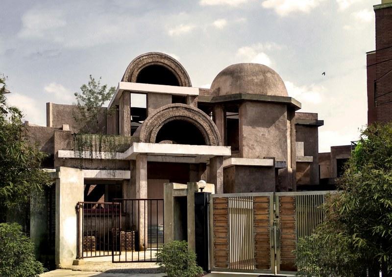 View, vault house, chaukor studio