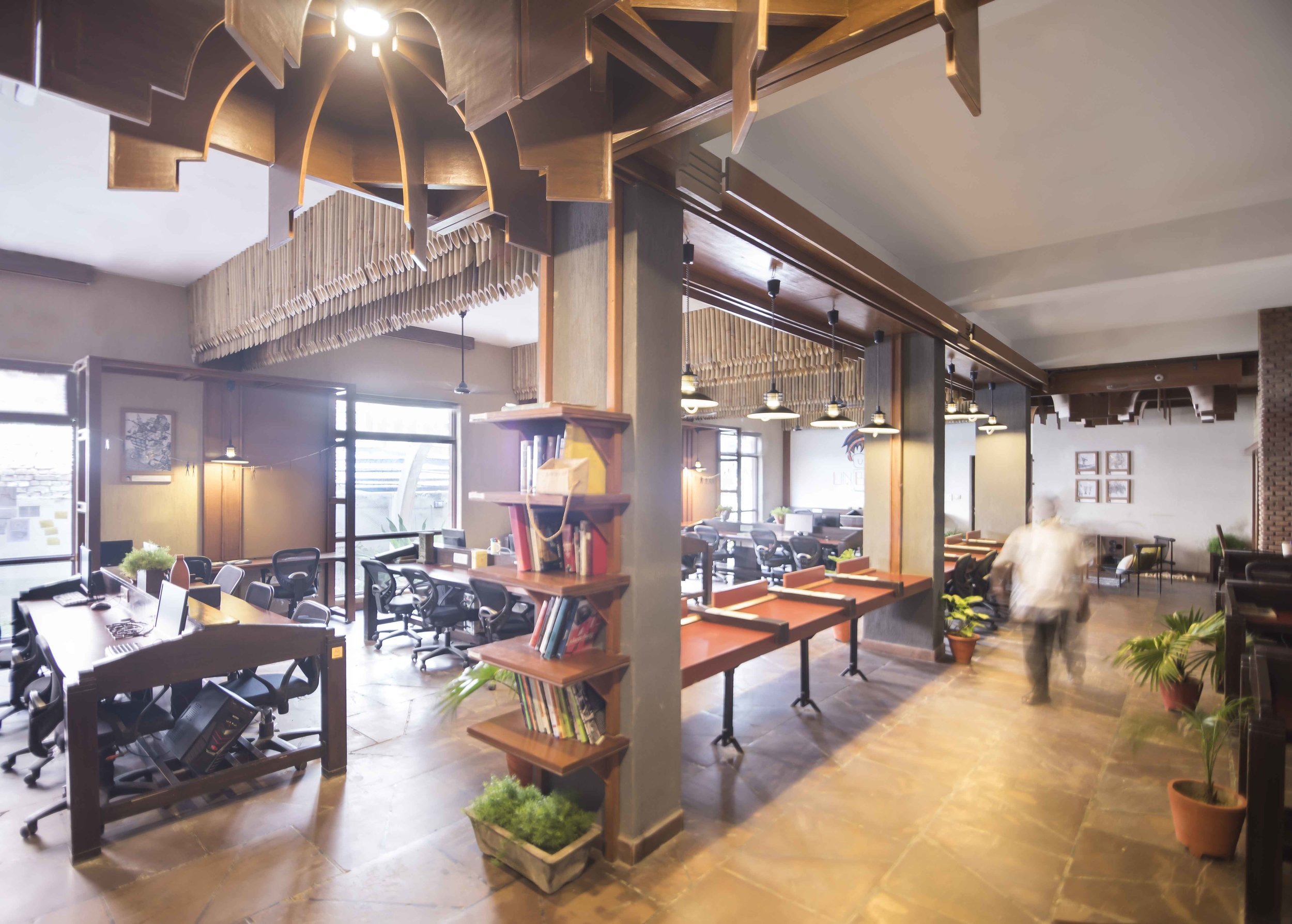Unboxed Coworking office