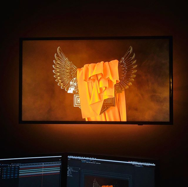 Live view from Edit 2. #insession #animation #3d #vfxmagic #motion #socialmediamarketing #808inc #advertising #marketingvideo #texasproducers #creativestudio #postproduction #bts