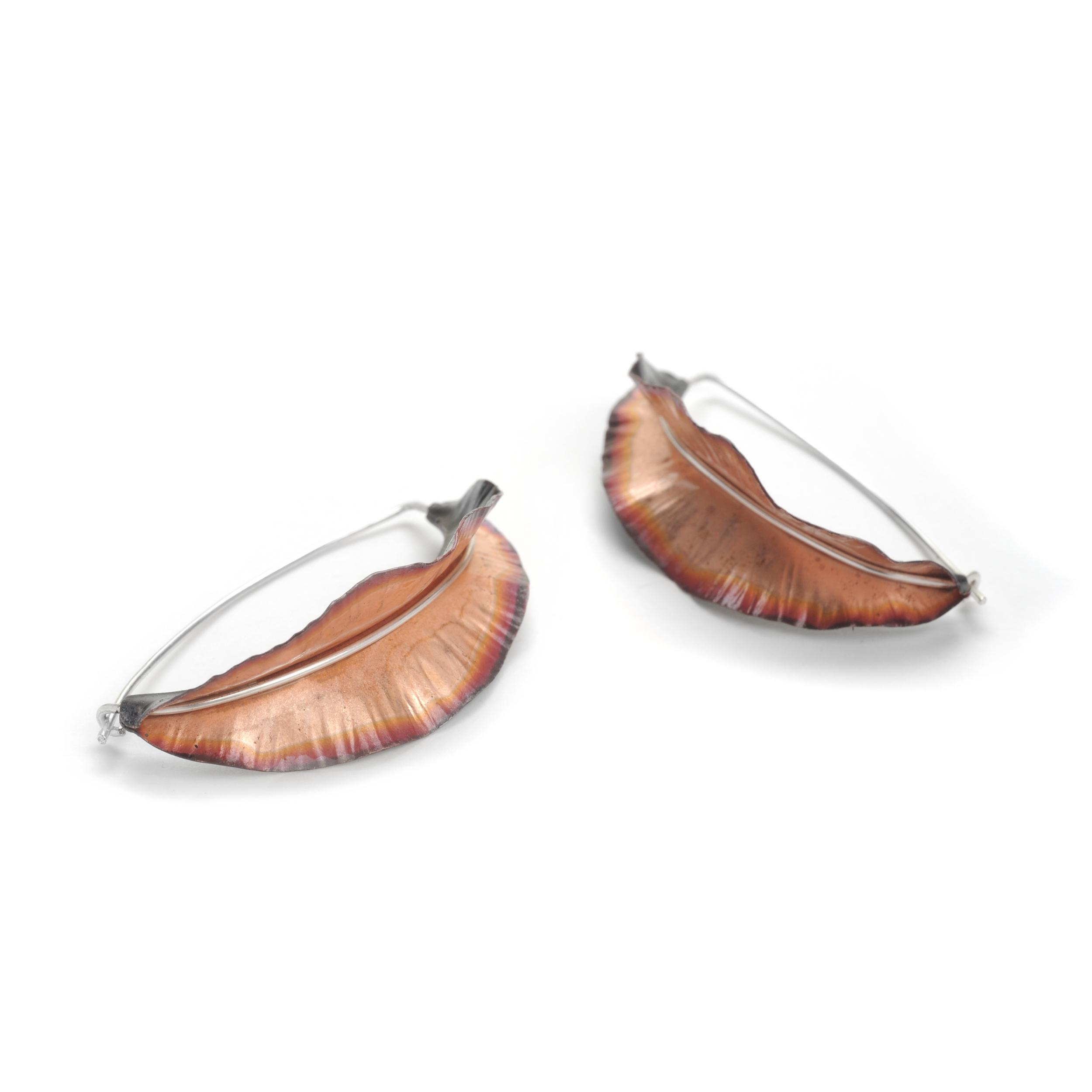 Ruffle Earrings