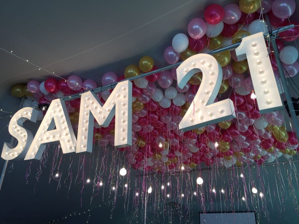 Marquee Letters 21st Birthday party.jpg