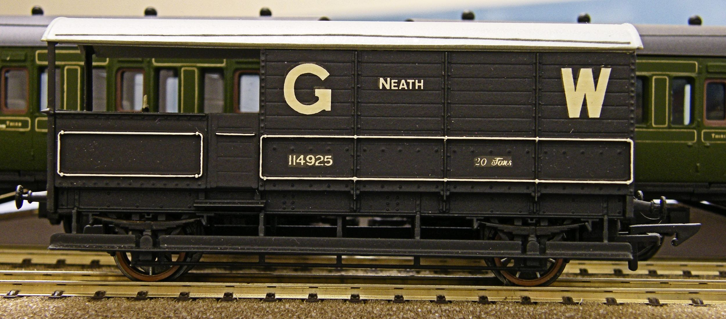 The Ratio 20 ton GWR Toad to plus or minus Diagram AA20