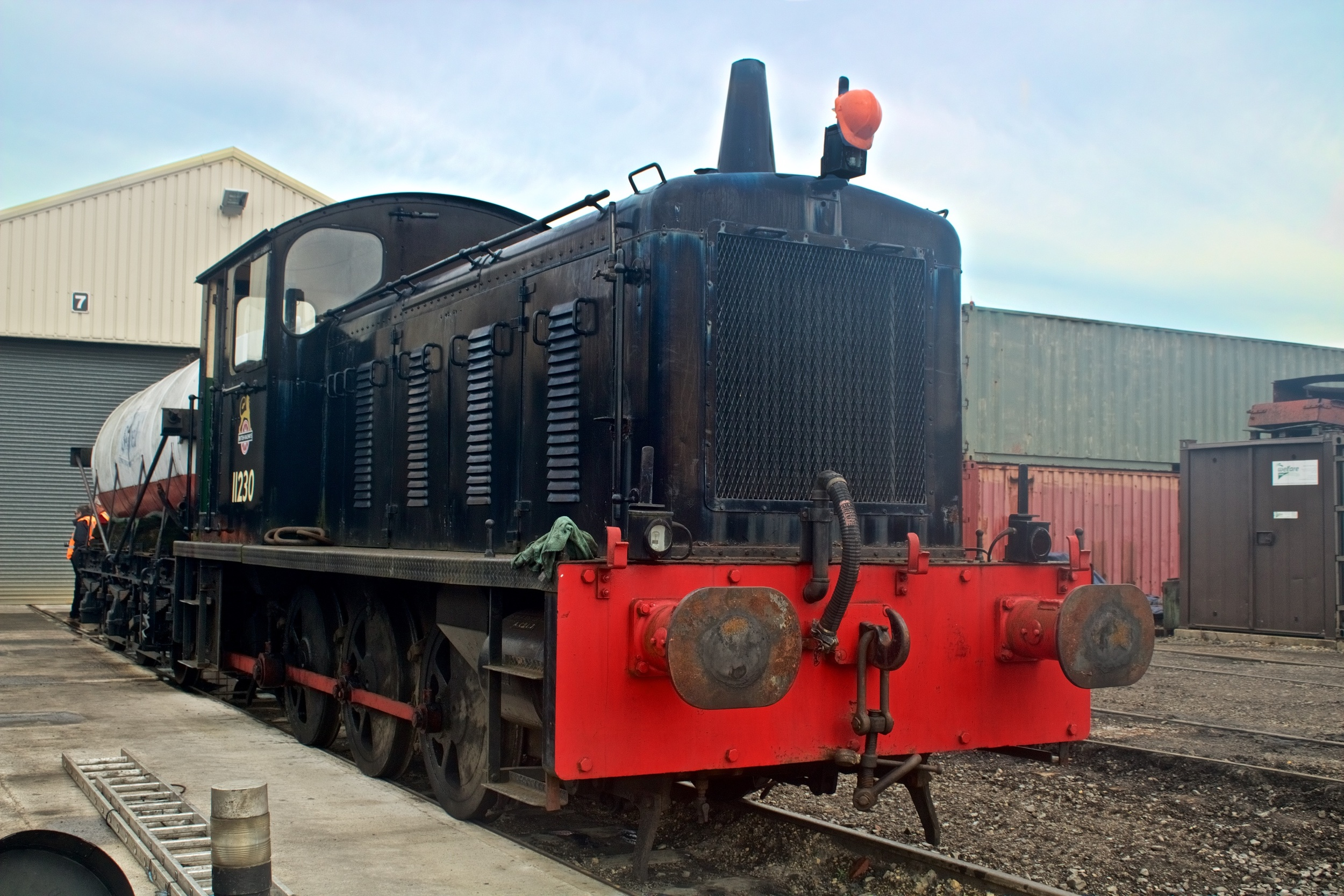 04 Class loco on the Gloucester and Warwickshire Railway - Photo: Gwion Rhys Davies