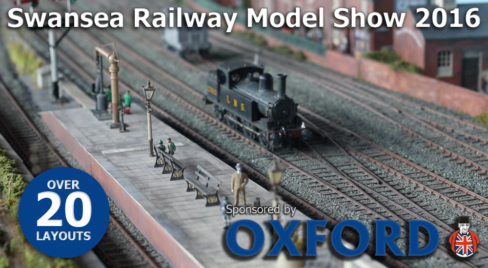 Swansea Railway Model Show 2016 this October 1st/2nd. Click the image for more details.