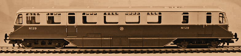 Hornby Railcar No.29, the original entered service in 1941 at Ebbw Junction