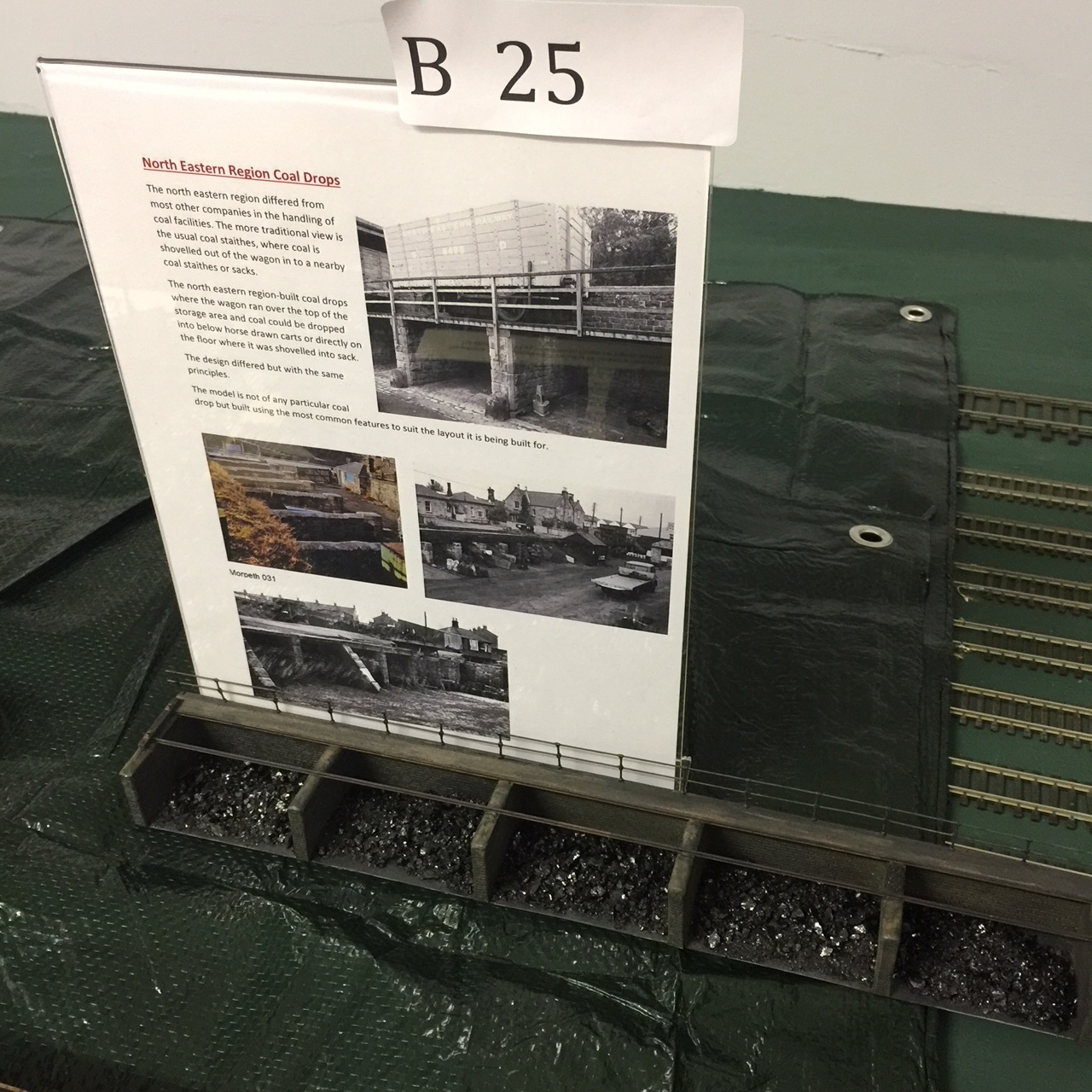 Scott Rhodes' scratch-built model of a typical North Eastern coal drop