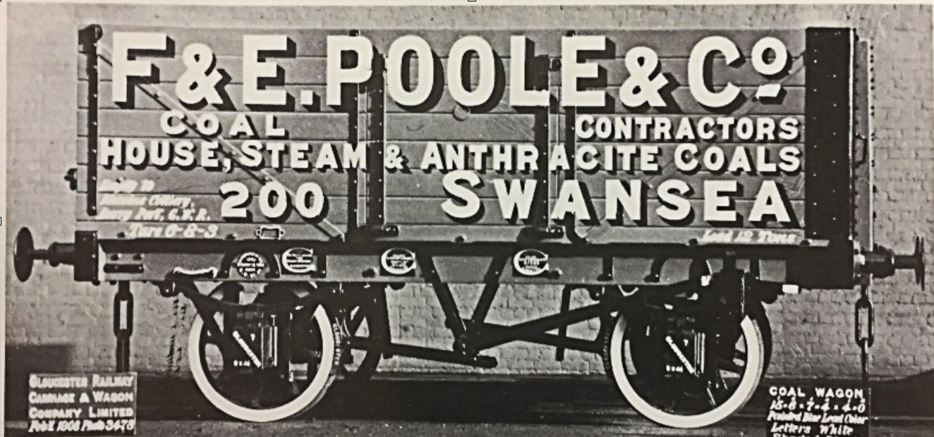 The original wagon dates from 1908, was one of ten ordered, and was built by the Gloucester Railway Carriage and Wagon Company.