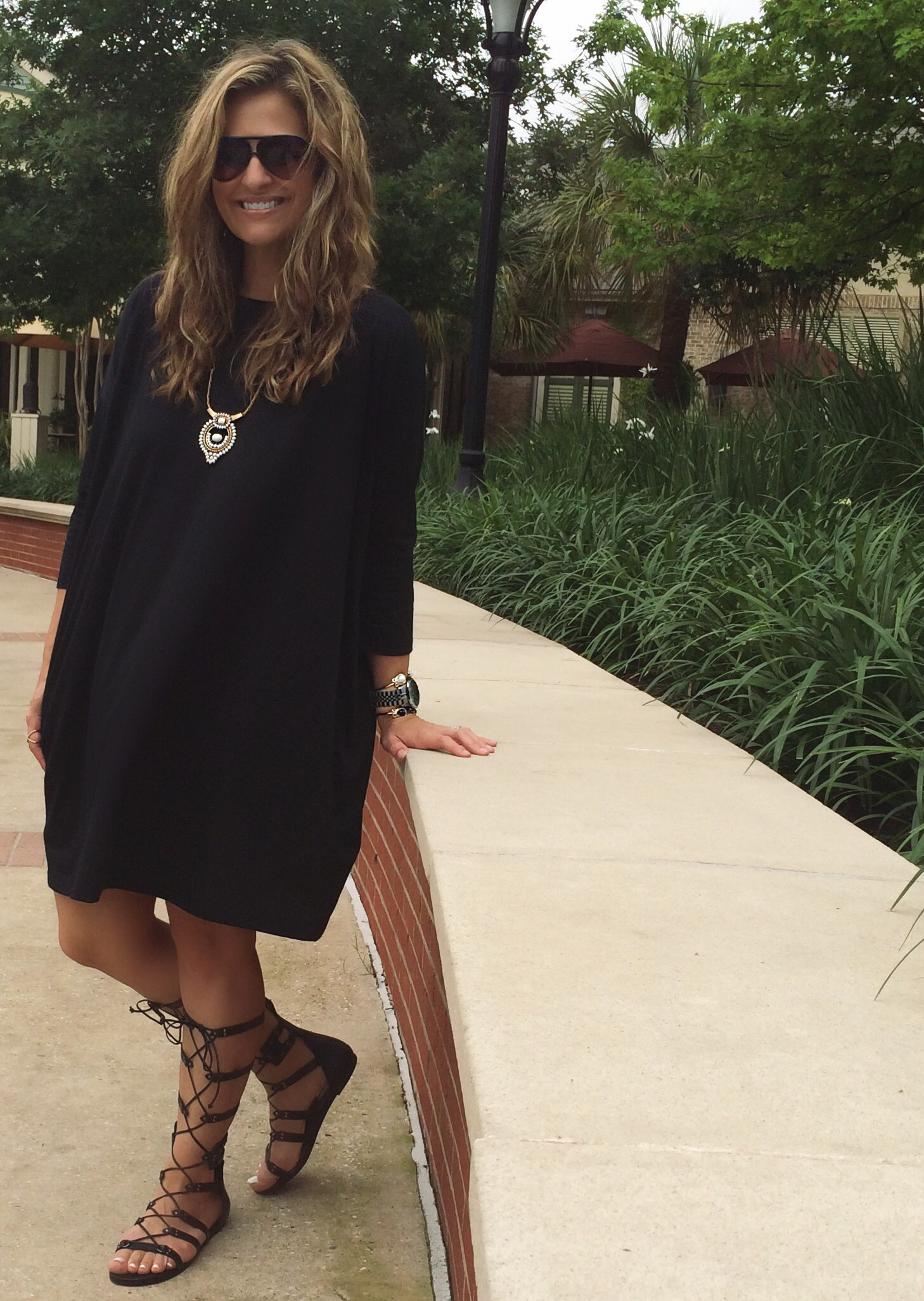 Dress:  Gap  (on sale)