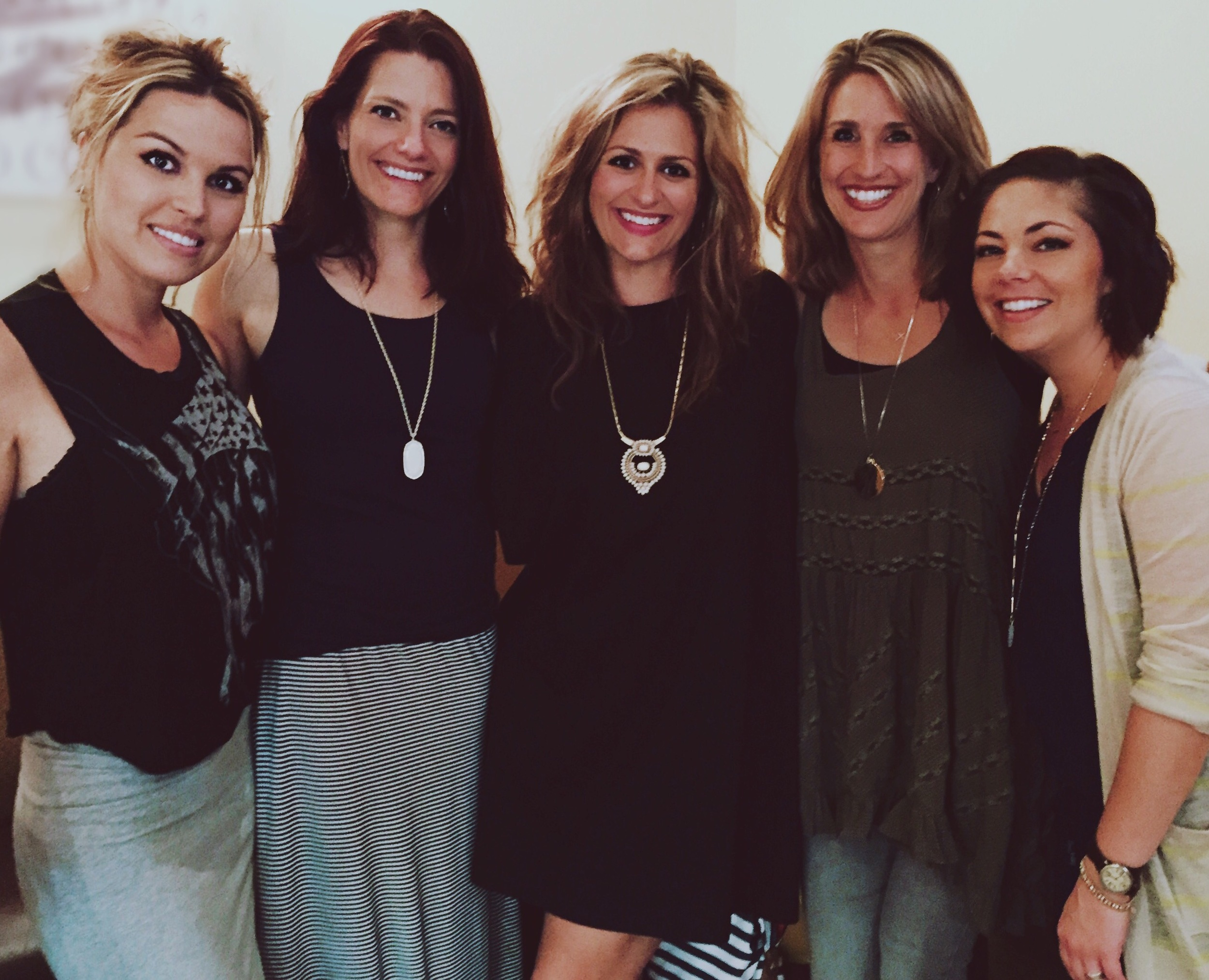 Ending the day with a GNO with some of my favorite people!