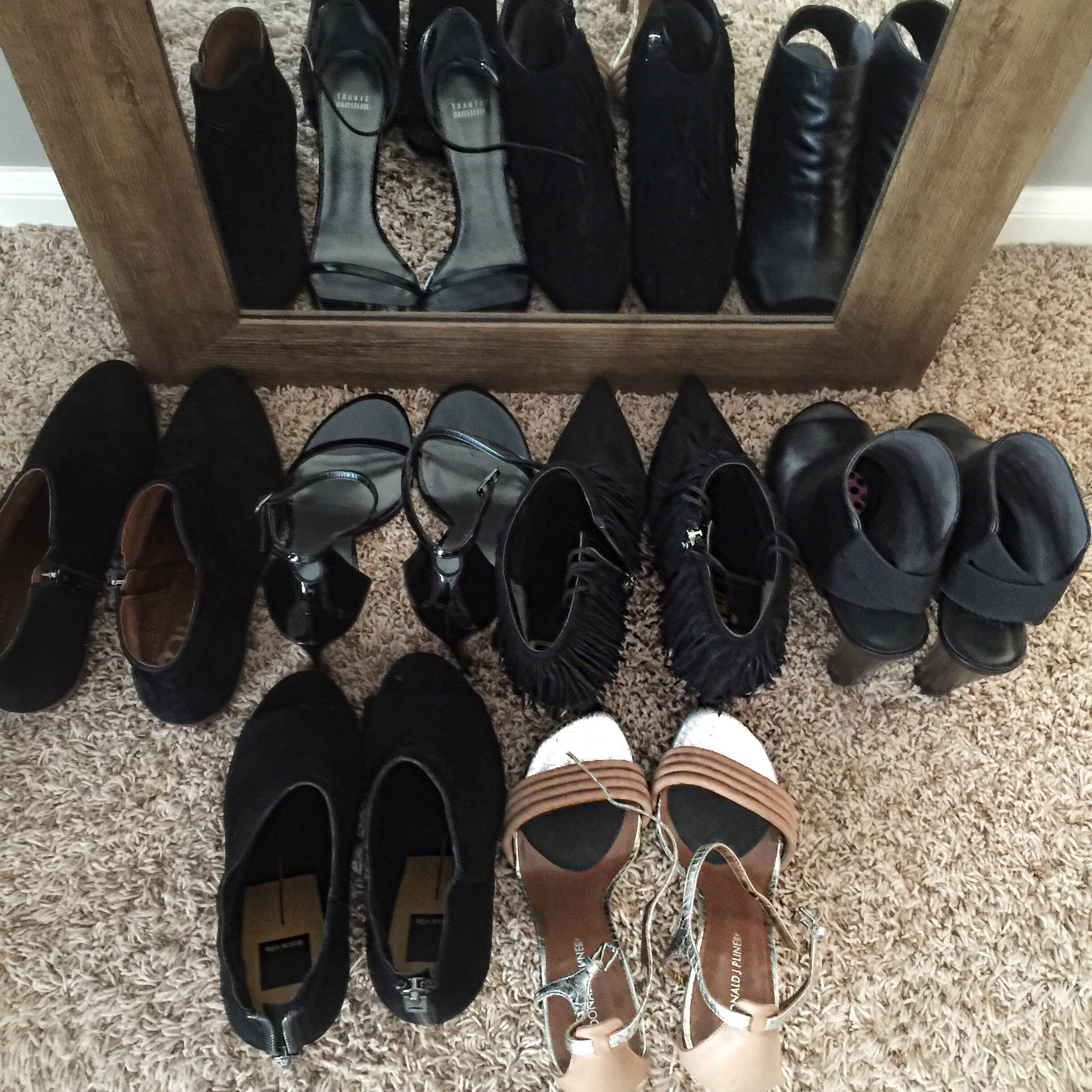 Bring on the shoe choices!