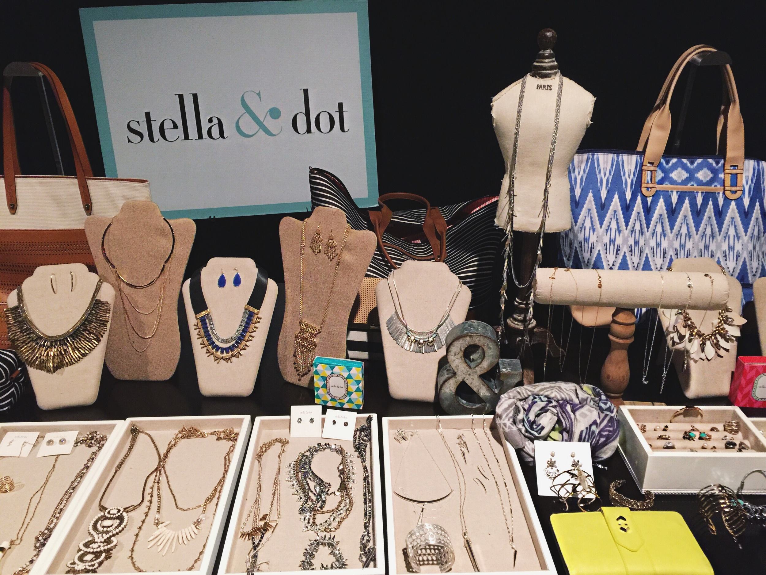 The always lovely  Stella & Dot  layout.