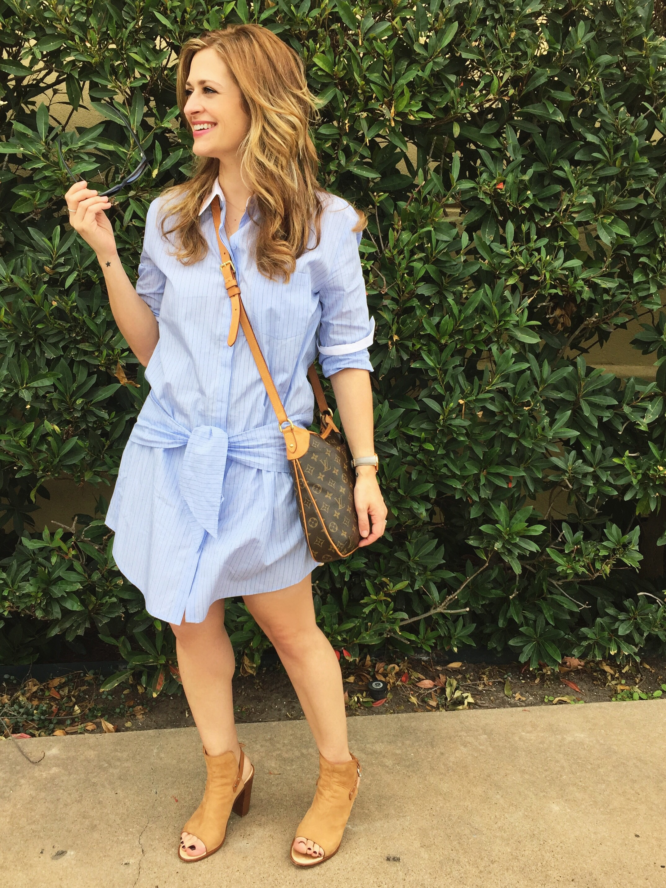 Nordstrom nails it with the perfect shirt dress by Trouve found  here.