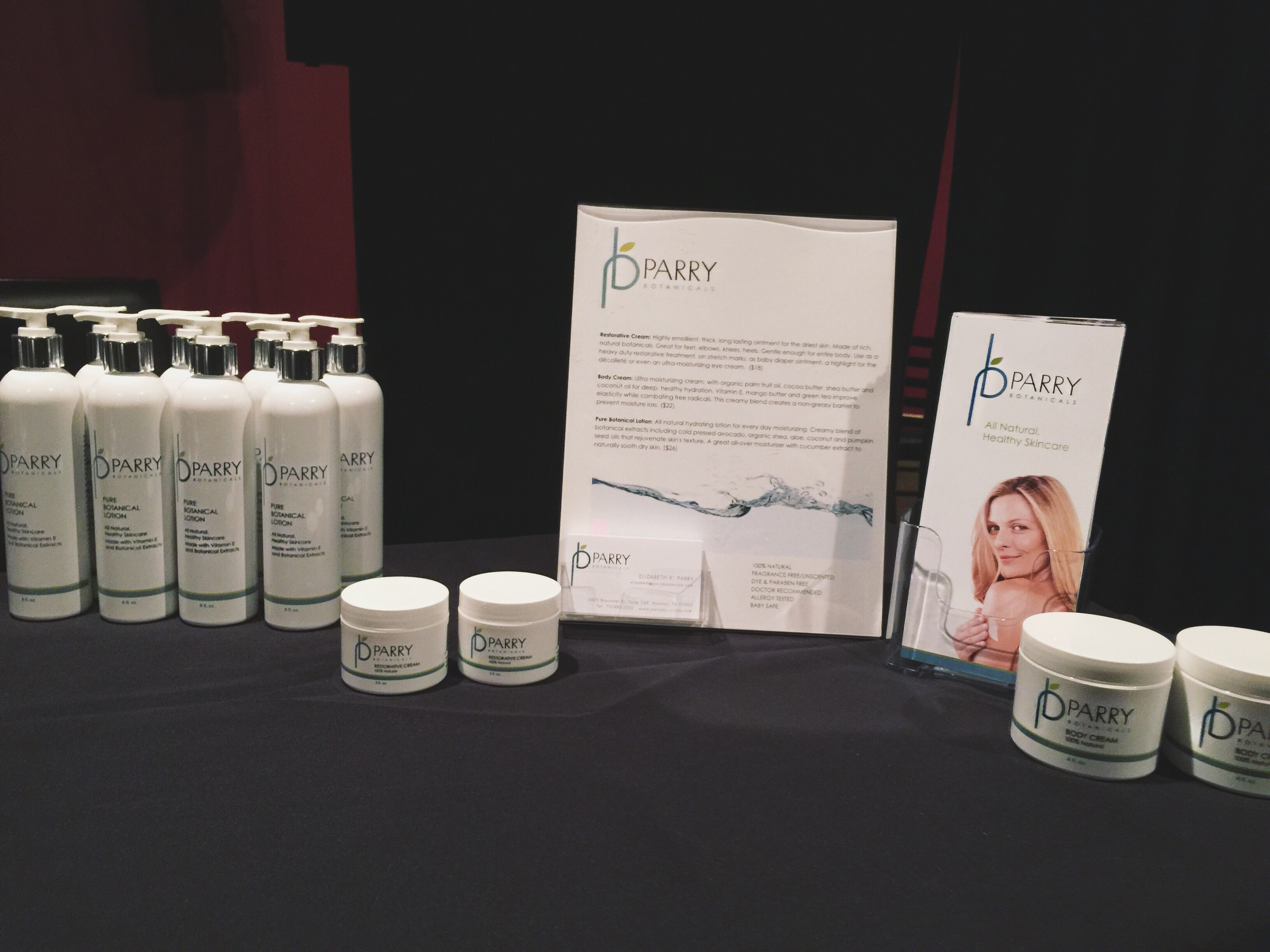 Parry Botanicals  at the Hot in Houston Now Spring Soirée