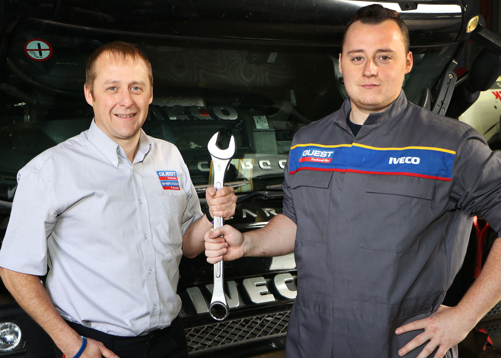 Guest Truck and Van - Craig Richards with son Andrew Richards pic 1.jpg