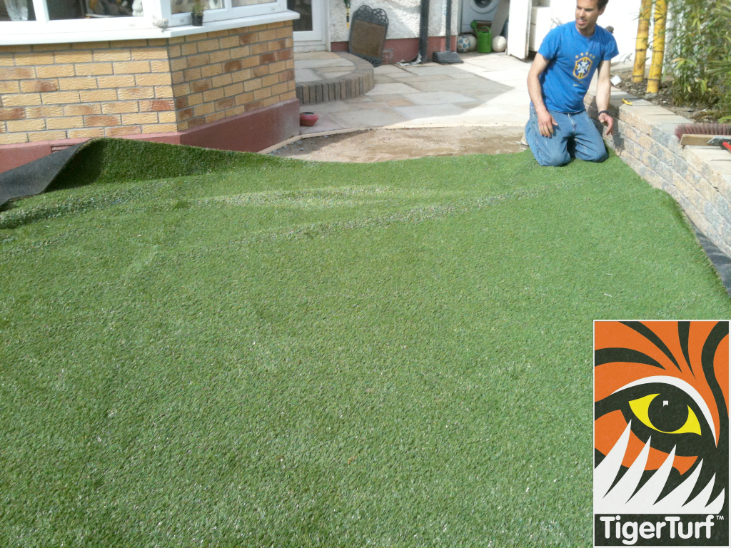 fitting new grass