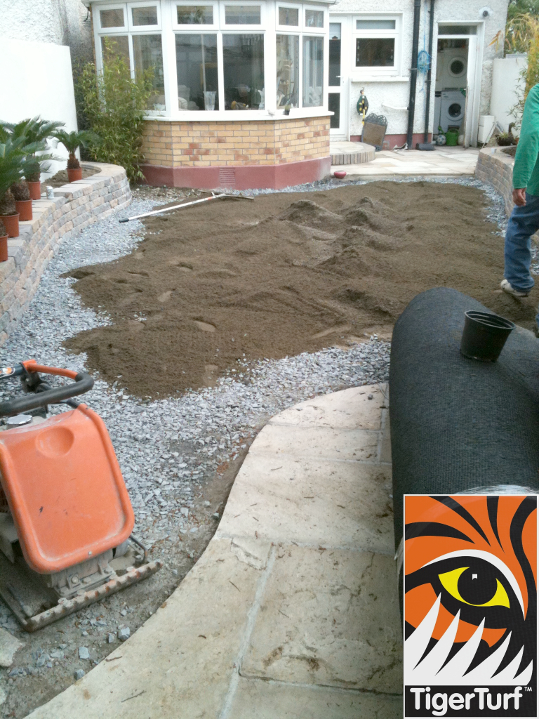 groundwork for artificial grass