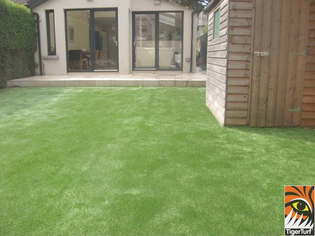 patio and TigerTurf