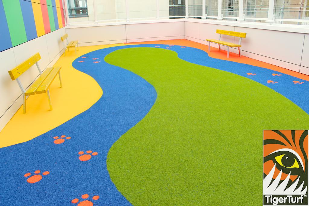 TigerTurf Play area