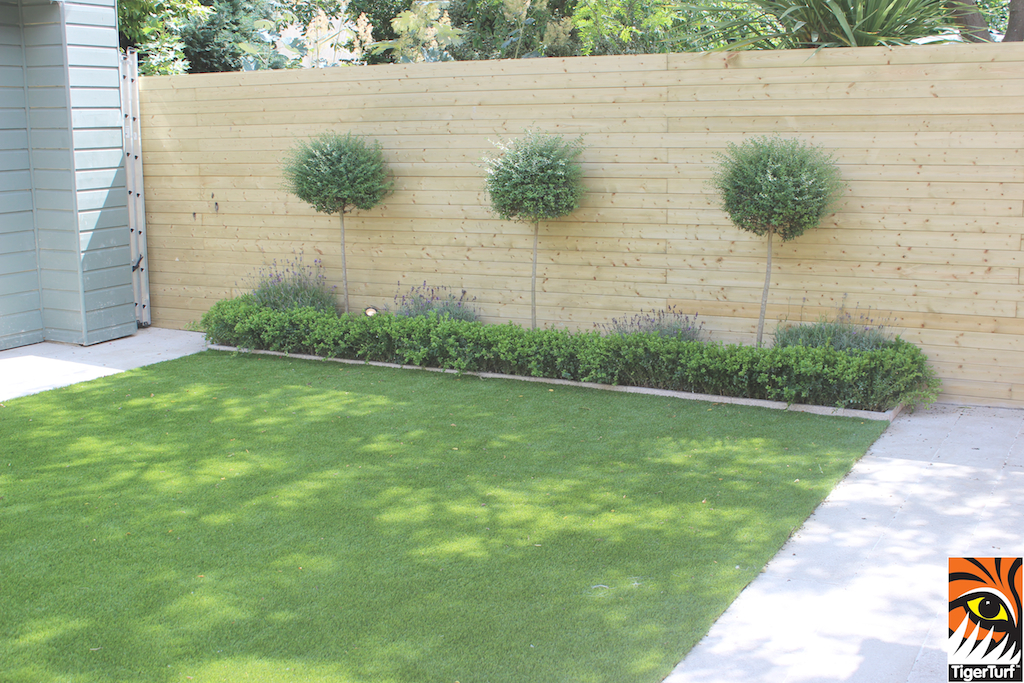 Garden designed with TigerTurf