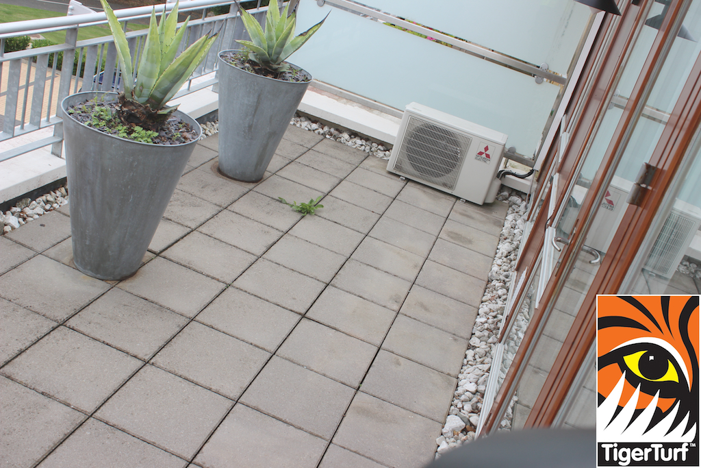 Apartment Terrace before Turfing
