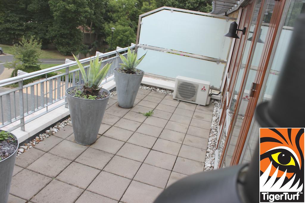 balcony before installation