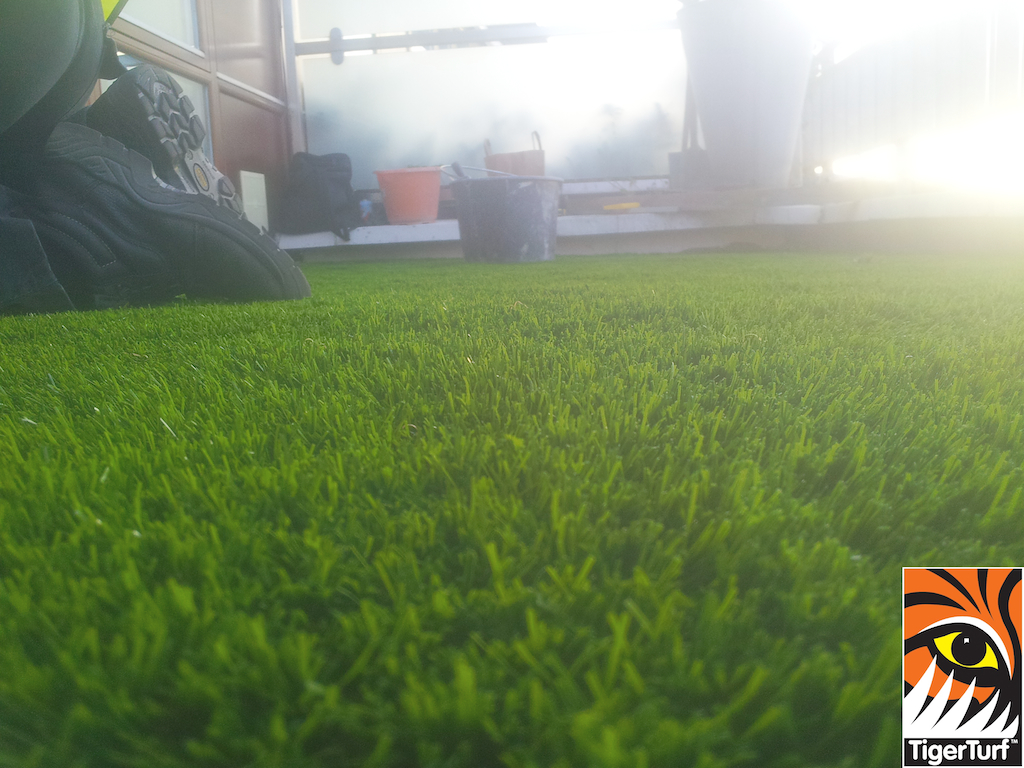 TigerTurf Finesse Deluxe Apartment installation