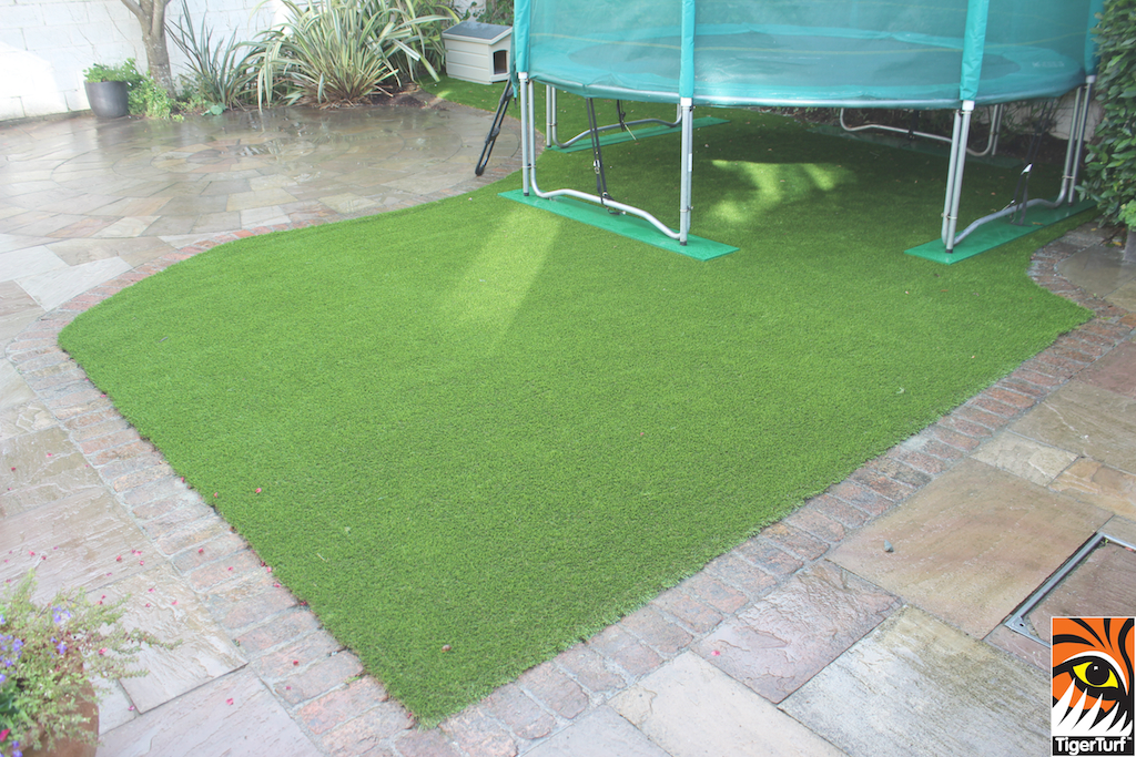TigerTurf and Trampoline