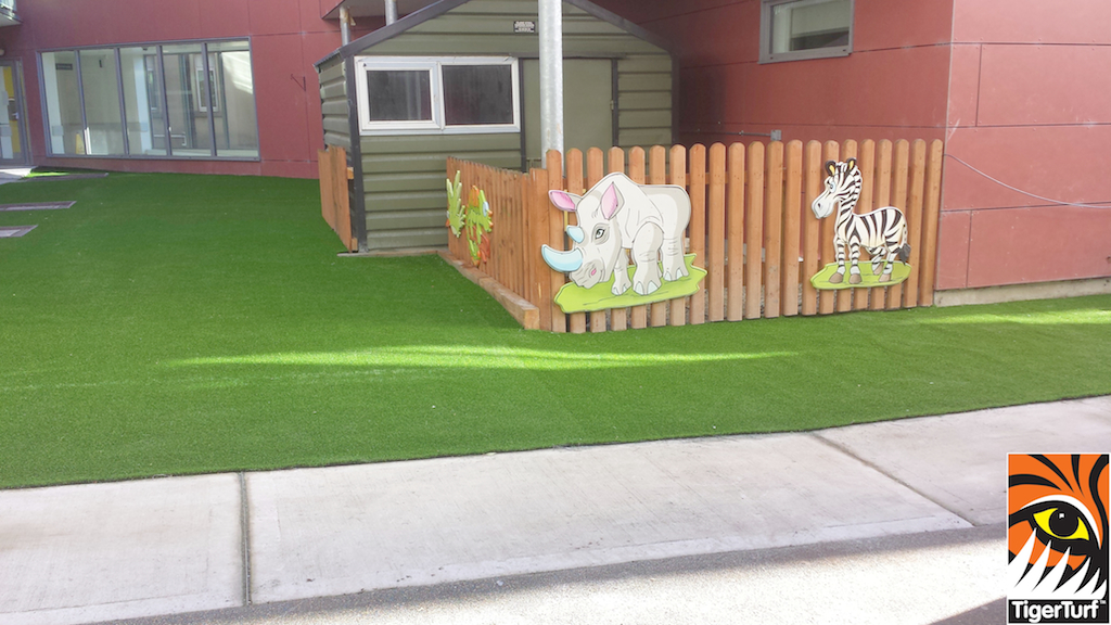 New TigerTurf Lawn for National Children's Hospital