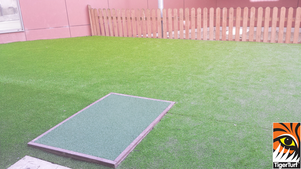 new lawn and soft surface