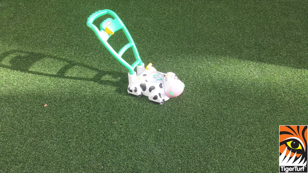 childs toy on lawn