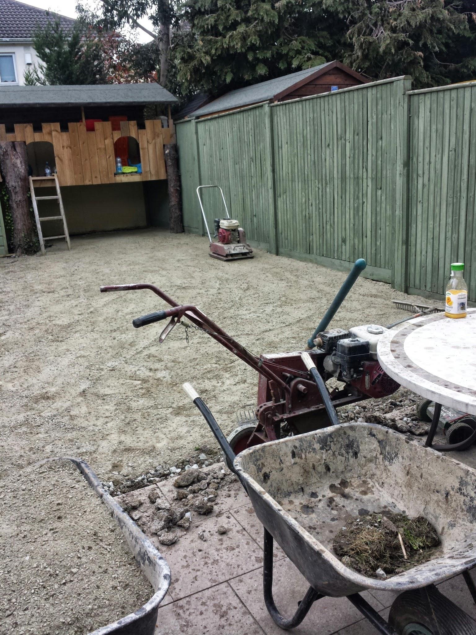 base for TigerTurf Lawn