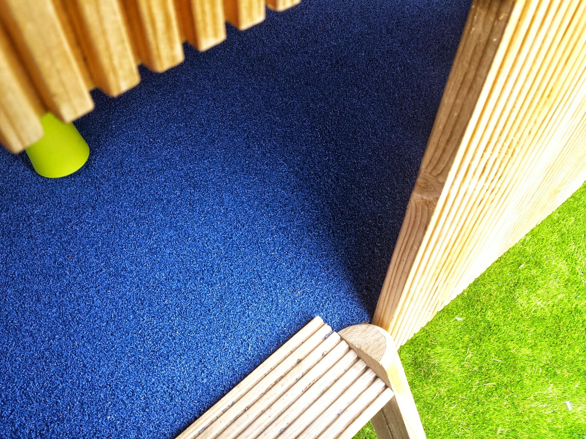 floor of treehouse