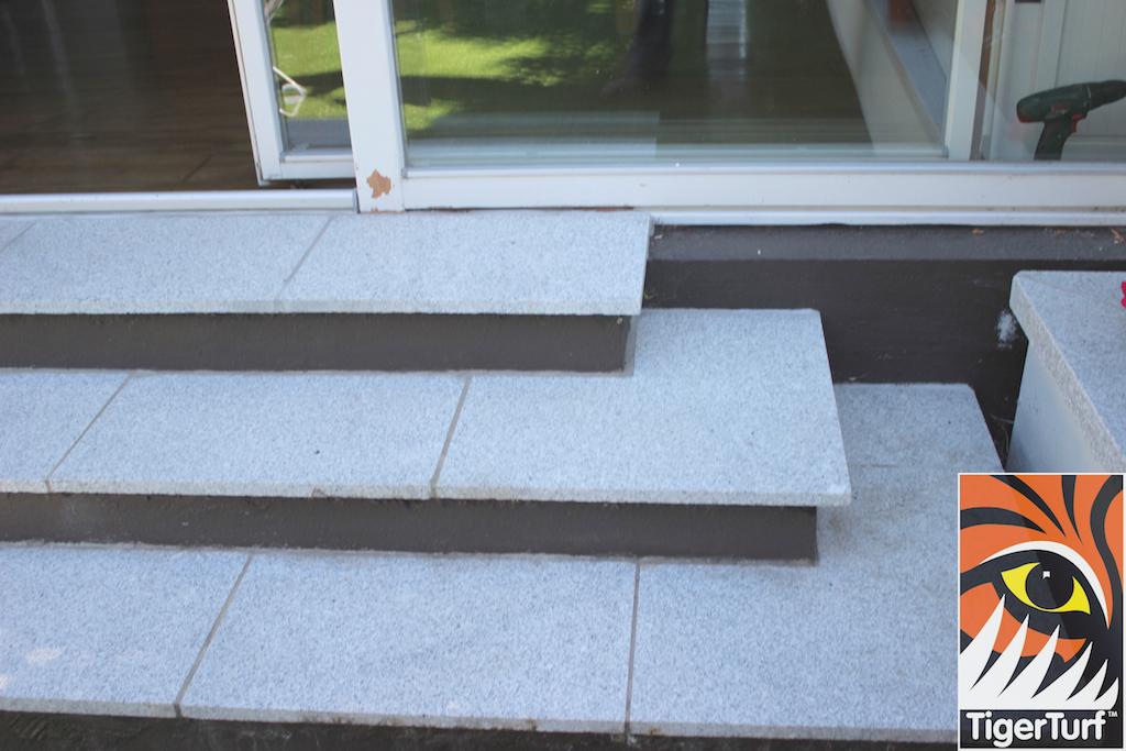 steps to garden grass
