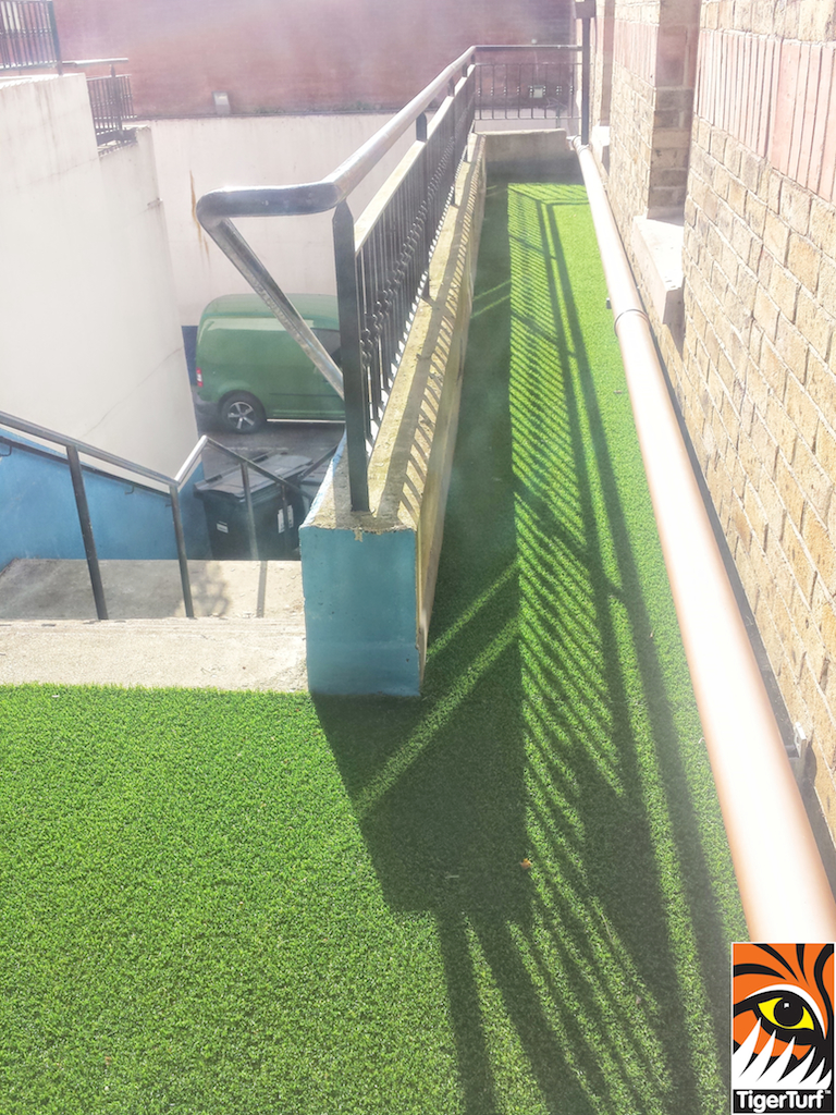 Corporate grass installation