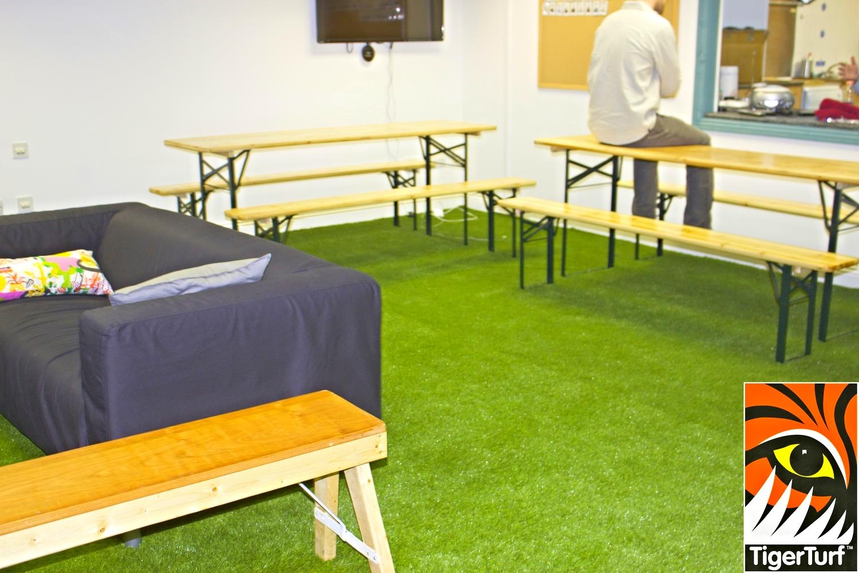 TigerTurf Indoor installation