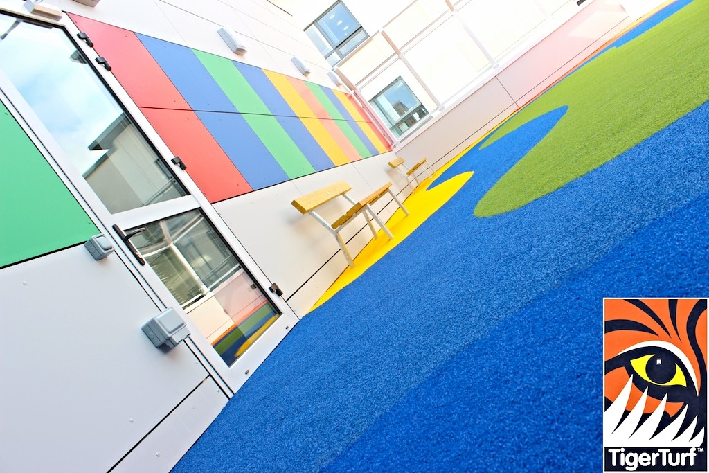 excellent design and installation of TigerTurf