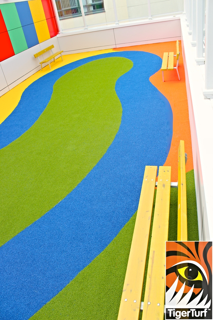 benches and TigerPlay from TigerTurf for ultimate safety