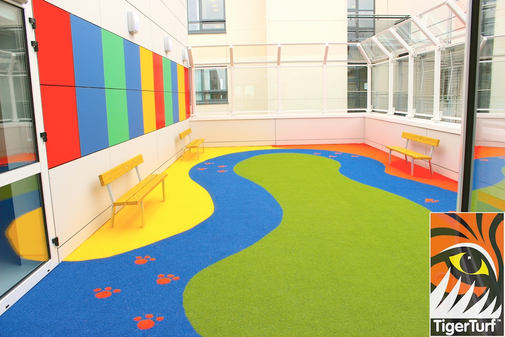 playground in TigerTurf