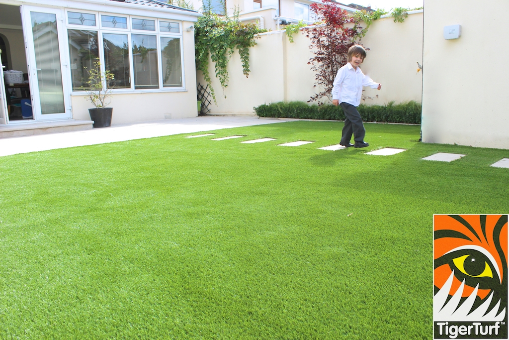 TigerTurf synthetic lawn